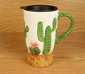 Rocklin Cactus Travel Mug