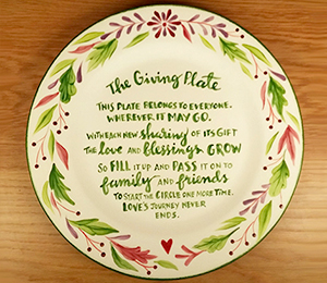 Rocklin The Giving Plate