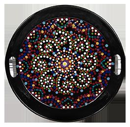Rocklin Mosaic Mandala Tray